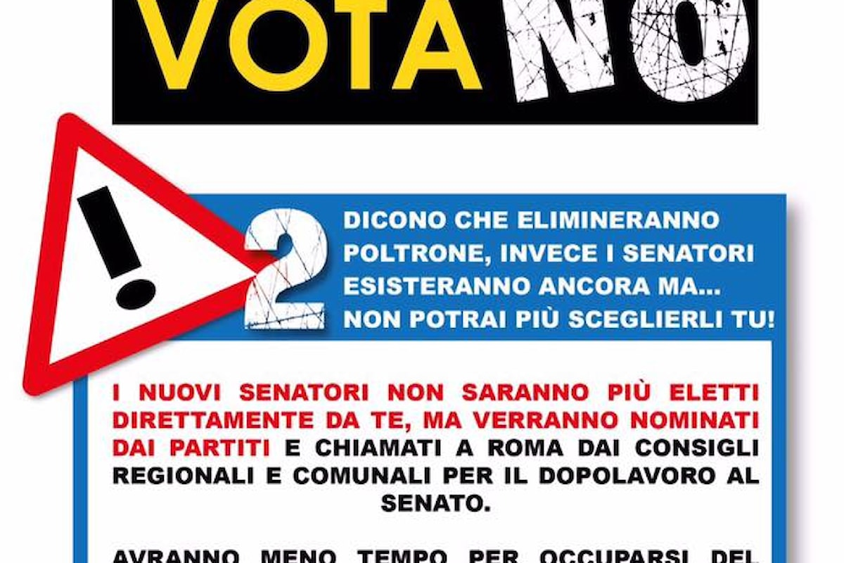 Io Voto No Al Referendum E Mando a Casa Renzi...