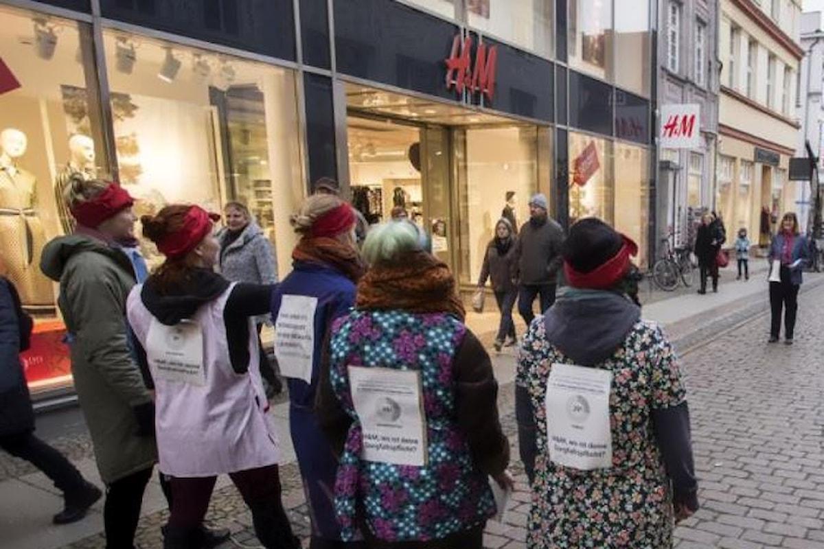 Salari da fame per gli 850.000 lavoratori di H&M