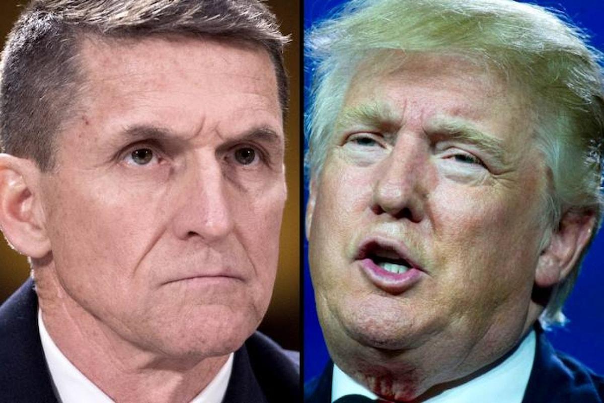 La Casa Bianca ha rilasciato una nota per screditare Michael Flynn