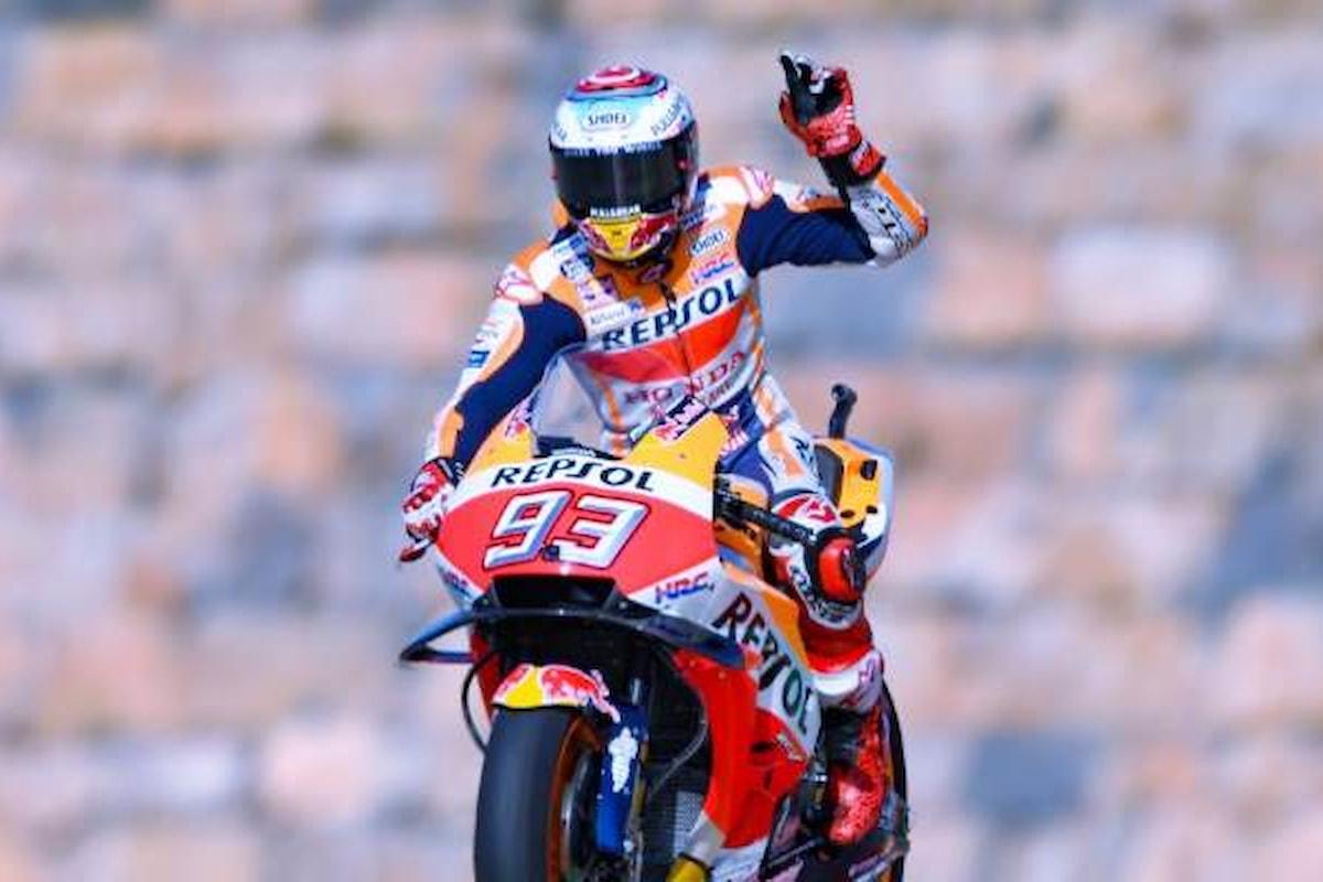 MotoGP 2018, ad Aragon nelle libere del venerdì il più veloce è Marquez. Seguono le Ducati