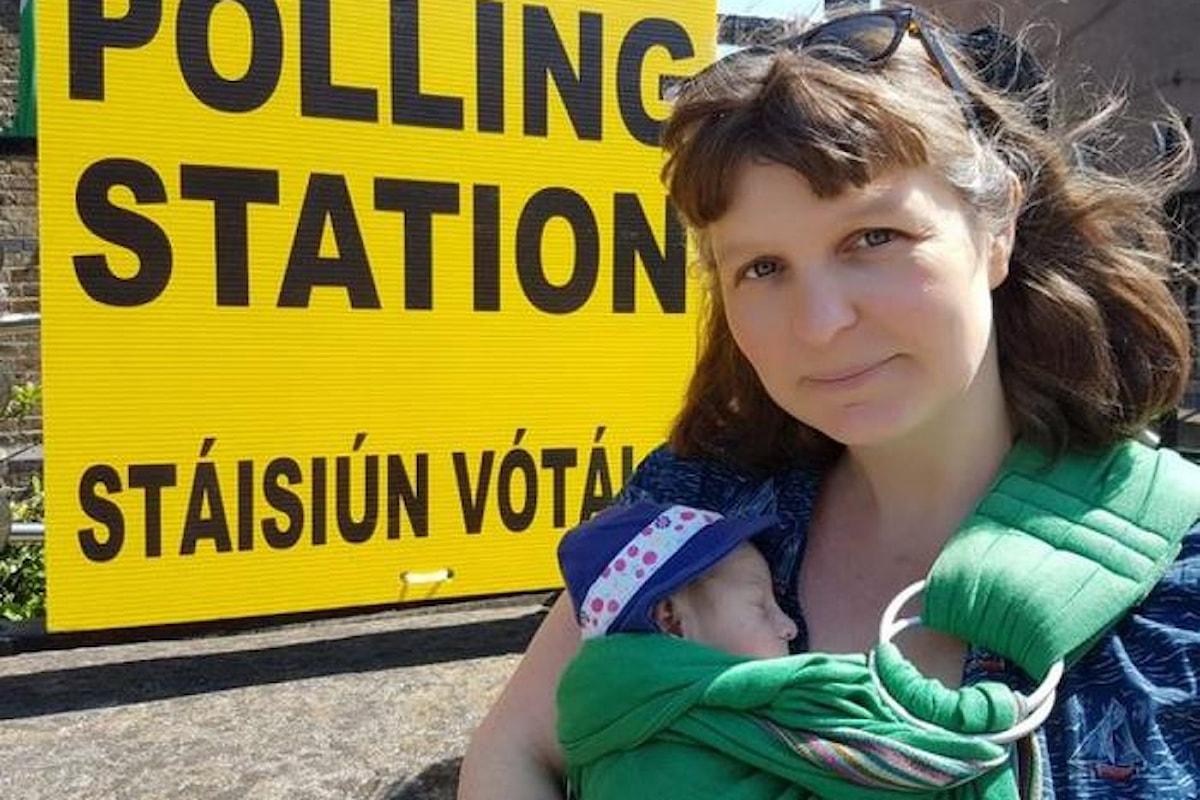 Anche l'Irlanda ha scelto di dire sì all'aborto