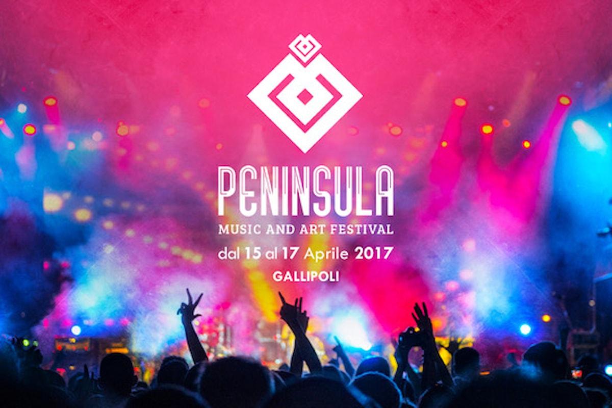 Peninsula Music and Art Festival 15 - 17 aprile '17 Gallipoli (LE)