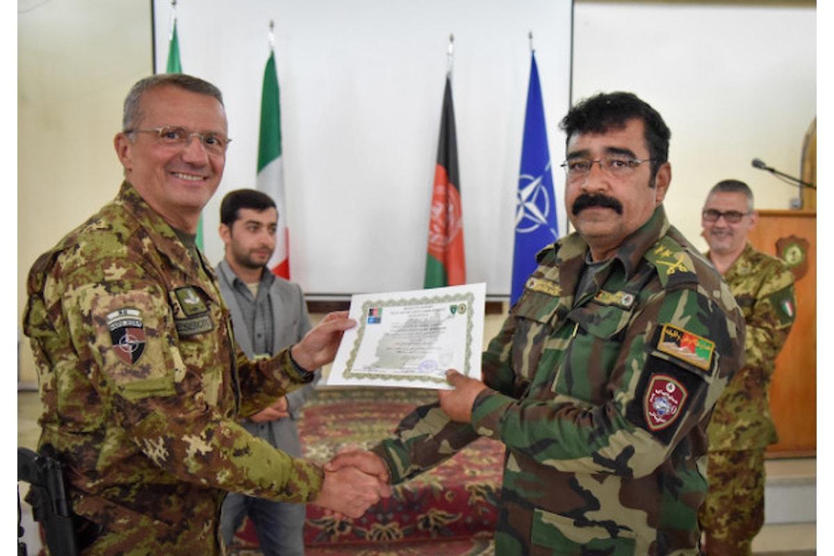 Afghanistan, militari italiani formano specialisti in comunicazione per combattere il terrorismo