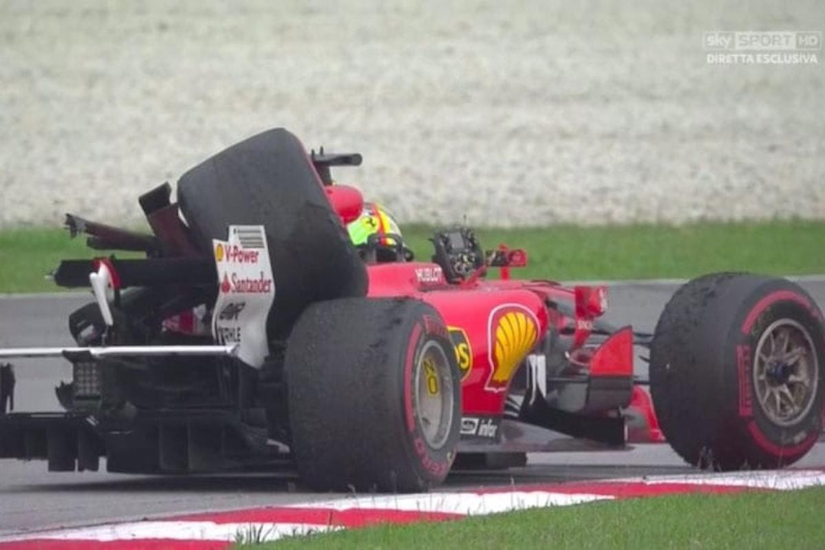 Notizia ufficiale della Ferrari sul cambio di Vettel!