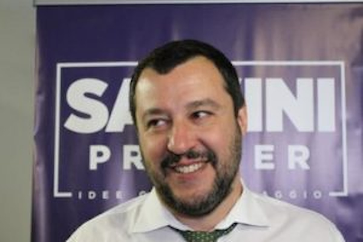 Matteo Salvini e l'idea del suo governo