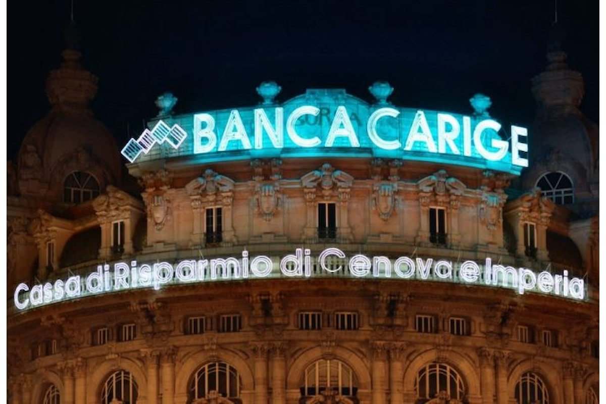 Difficoltà di Banca Carige per effettuare l'aumento di capitale imposto dalla Bce