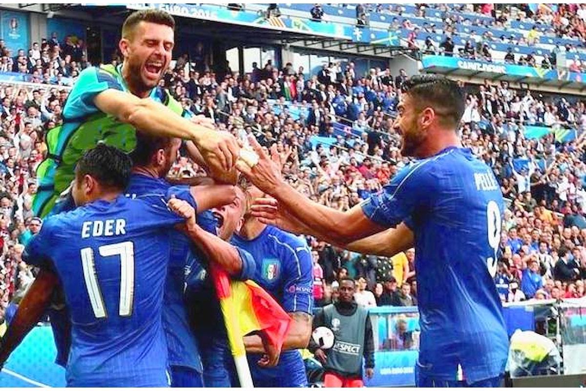 Toh! L'Italia batte la Spagna 2-0 e vola ai quarti contro la Germania