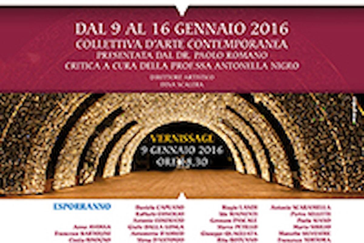 PREMIO NOLAVA 2015 AL MAESTRO VIRGINIO QUARTA. Il conferimento SABATO 9 GENNAIO al TEMPIO DI POMONA nel corso del vernissage dell'Expo d'Arte Contemporanea LUCI IN AVALO