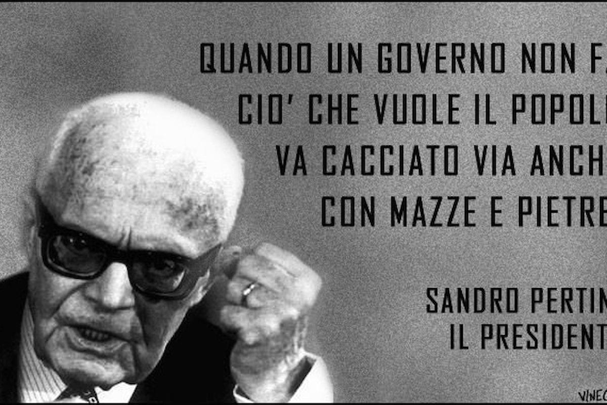 Matteo Renzi, peloso elemosiniere