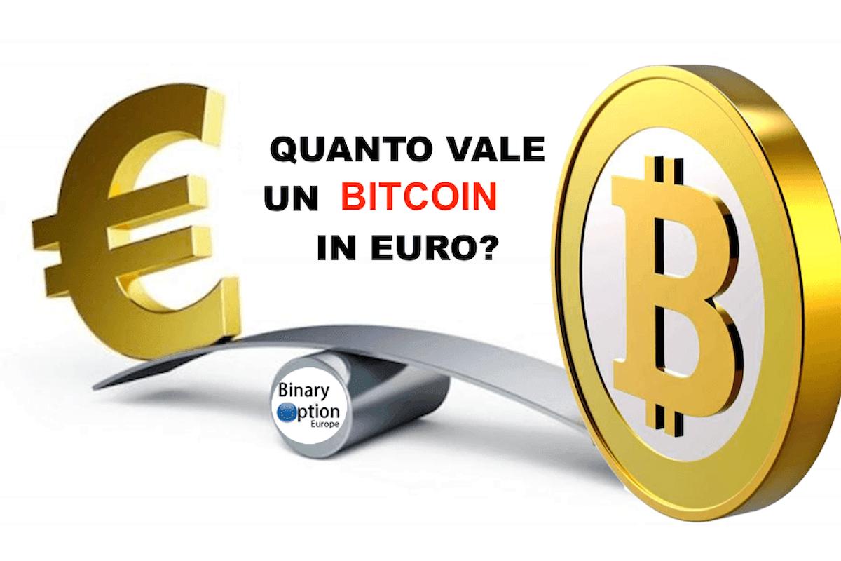 Quanto vale un bitcoin in euro? Quotazione? Prezzo? Cosa succede?