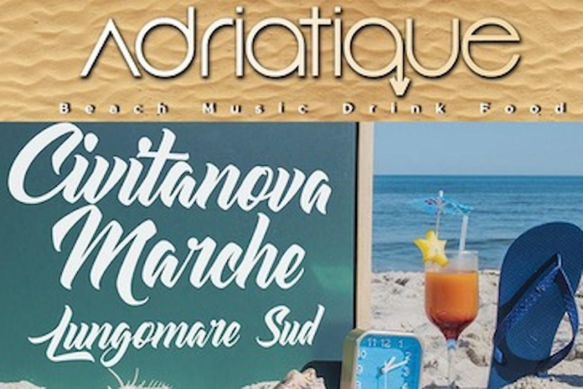 Adriatique - Civitanova Marche (MC): da sabato 14 luglio si balla on the beach