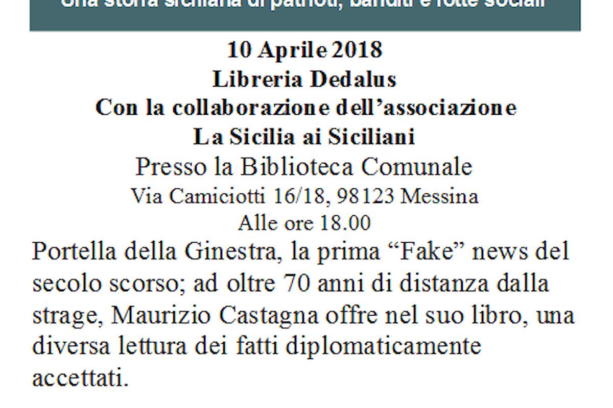Maurizio Castagna presenta il saggio Montelepre Caput Mundi