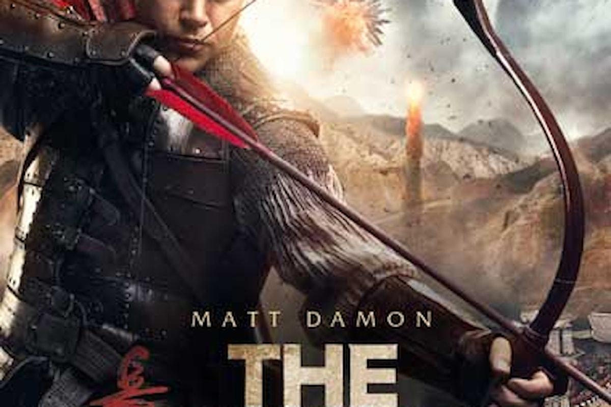 La recensione in anteprima del film THE GREAT WALL con Matt Damon