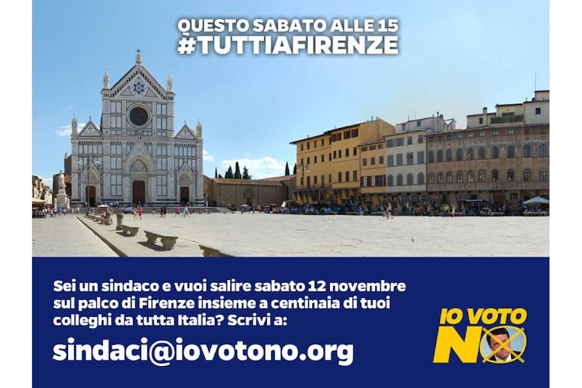 Salvini a Firenze il 12 novembre per promuovere il No al referendum