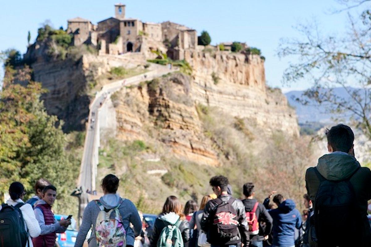Civita di Bagnoregio, Bomarzo, Villa Lante: con la provincia di Viterbo si chiude la seconda edizione di A SPASSO CON ABC, Un altro sguardo 2018