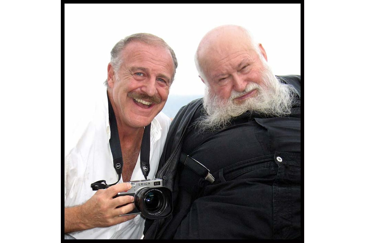 Augusto De Luca incontra e fotografa Hermann Nitsch