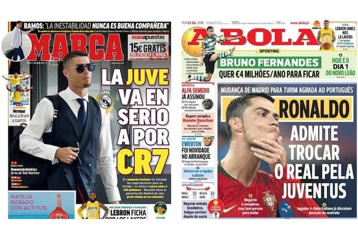 Cristiano Ronaldo alla Juve? Ma la Juve potrebbe permetterselo?