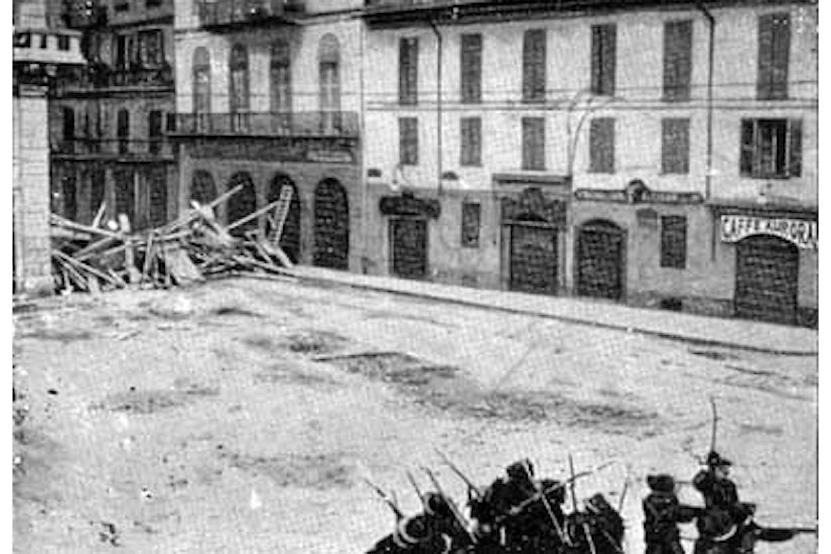 La repressione dei moti di Milano, maggio 1898