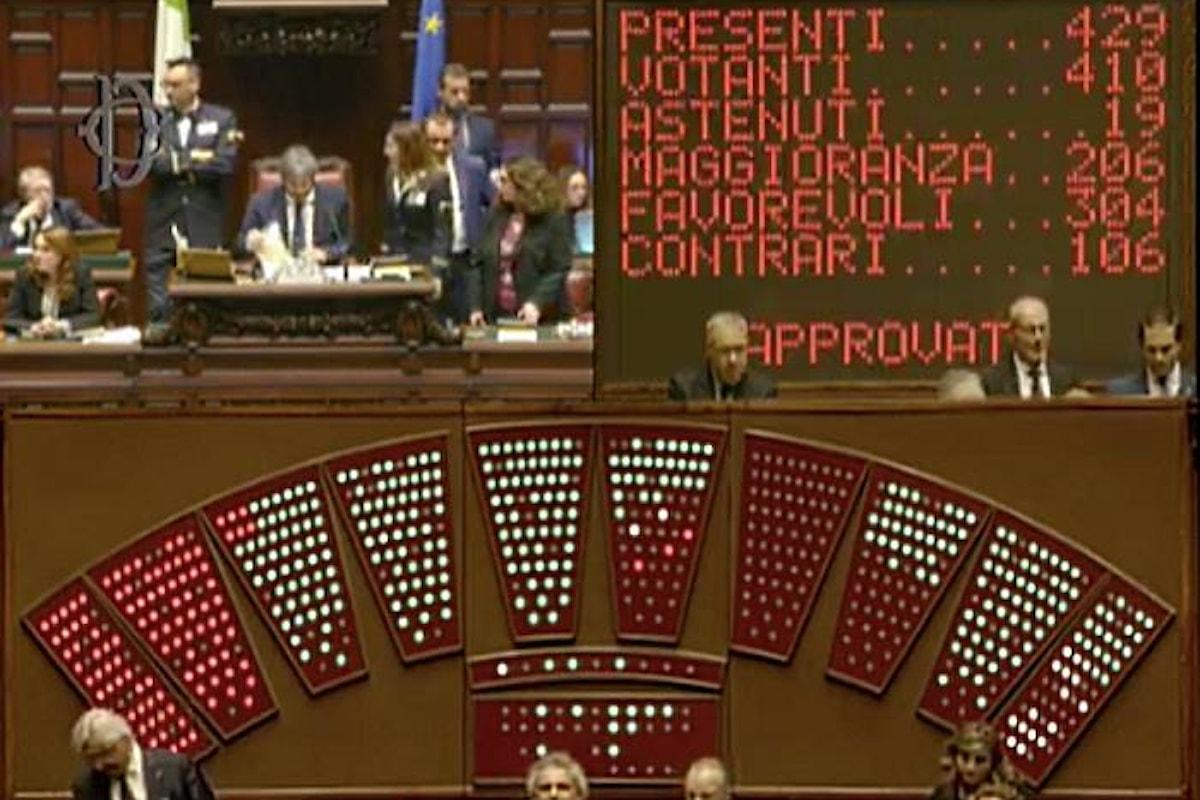 Approvato in via definitiva alla Camera il ddl anticorruzione. I 5 Stelle festeggiano