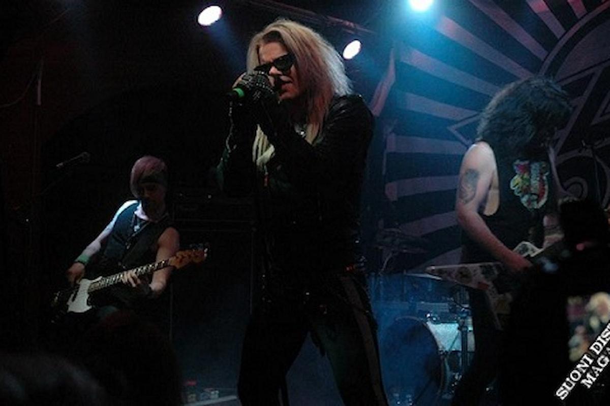 Le foto dal concerto dei Reckless Live a Pisa con Sandness e Junkie Dildoz (di Graziella Ventrone)