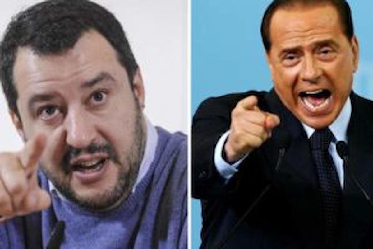 Matteo Salvini, le primarie e Silvio Berlusconi