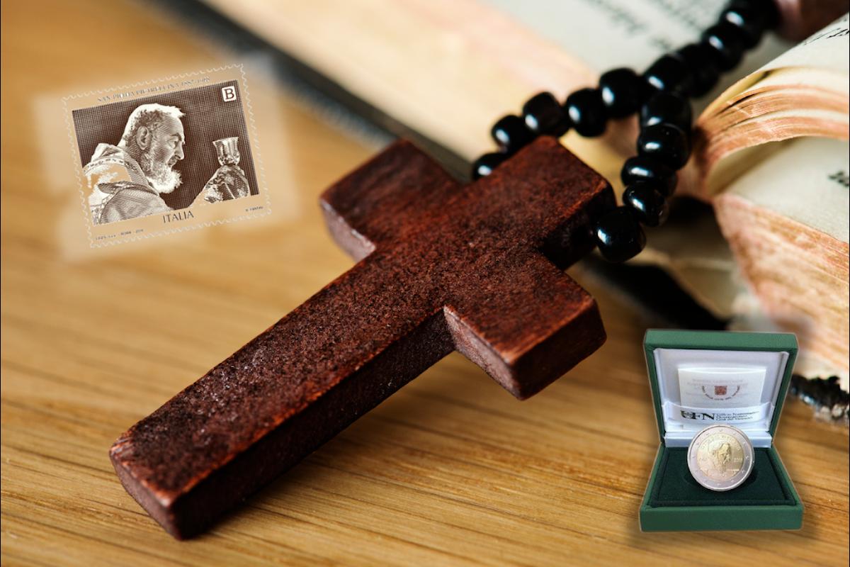 Collezionismo, a Gragnano in visione il 2 Euro per il 50° Anniversario della morte di Padre Pio
