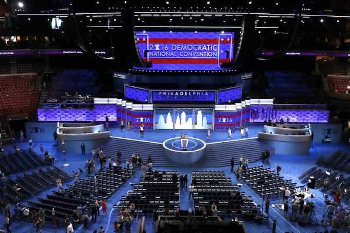 Hillary Clinton contestata alla Convention democratica