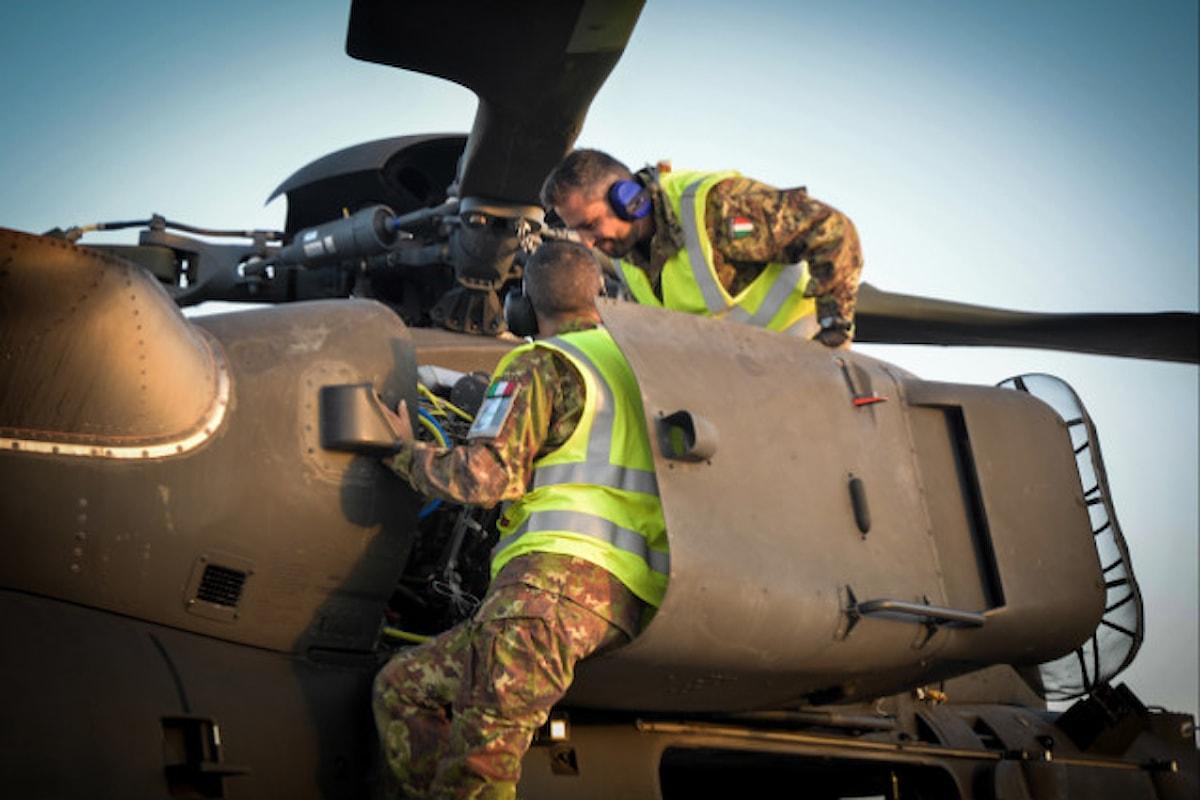 Afghanistan, Mangusta italiani hanno raggiunto 12.000 ore di volo in 10 anni di missione