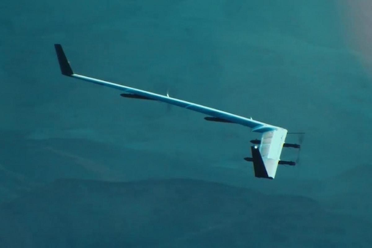 Riuscito il primo volo di Aquila, il drone di Facebook che porterà Internet a miliardi di persone