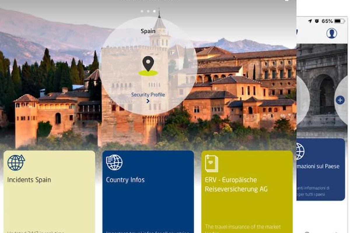 Travel & Care: ERV presenta la app per gli assicurati in viaggi