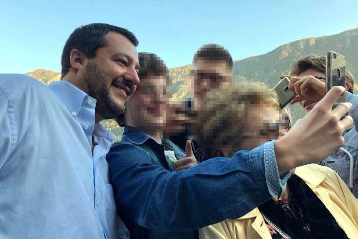 L'ipocrita Salvini decide di porre fine al modello Riace
