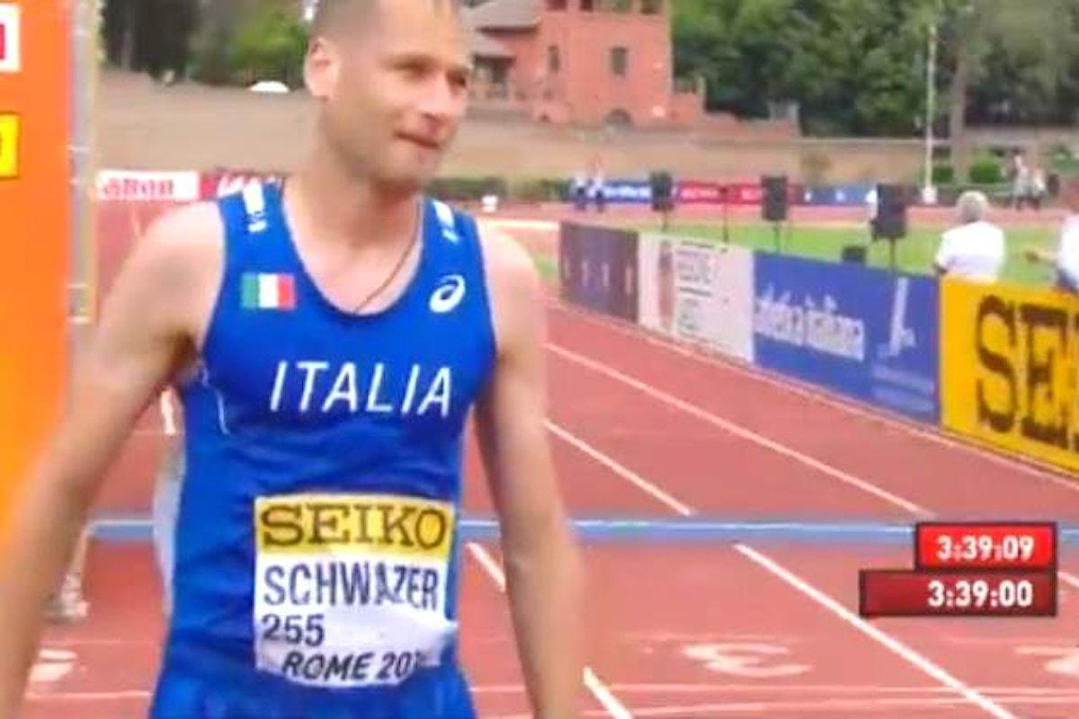 Alex Schwazer ritorna a gareggiare e vince a Roma la 50 km per il campionato del mondo a squadre
