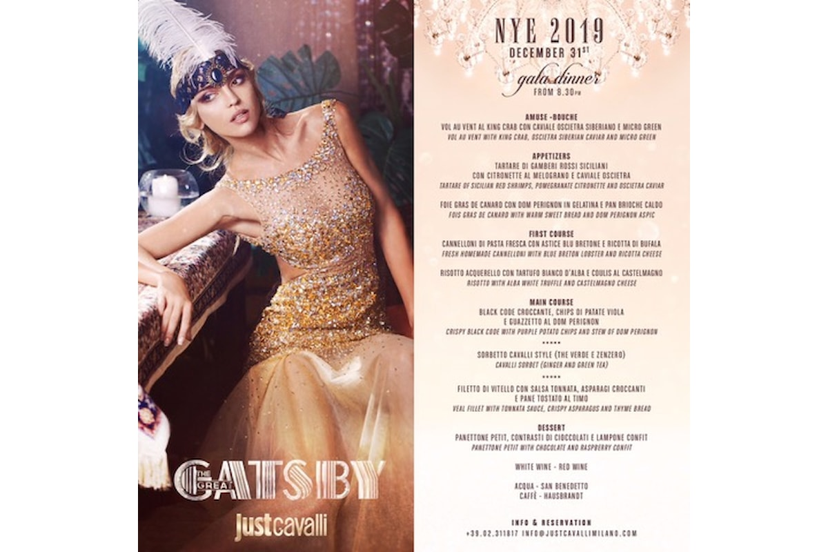 Capodanno 2019 Just Cavalli - Milano: The Great Gatsby