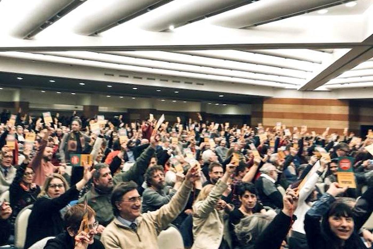 L'Assemblea nazionale di Liberi e Uguali approva le linee del programma per le politiche 2018
