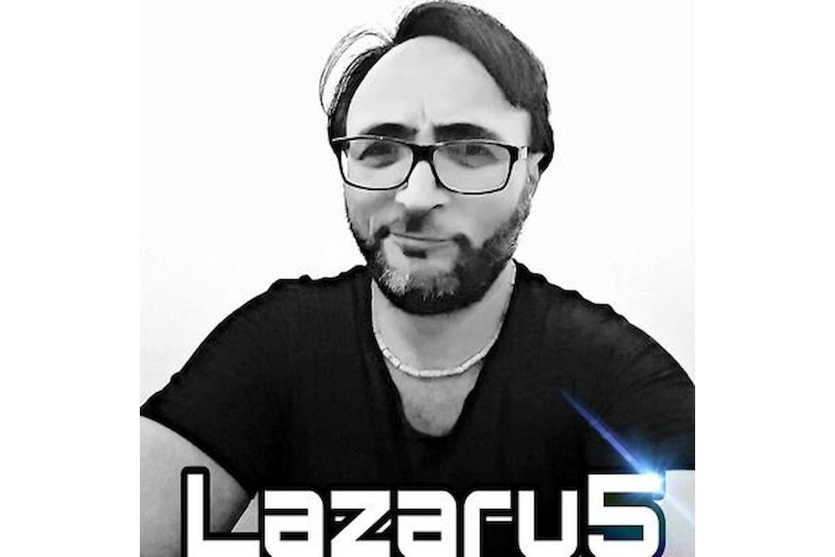 LAZARU5 sarà sua la colonna sonora del PREMIO SICILIA XXVI EDIZIONE SEZ.  FEDERICO II