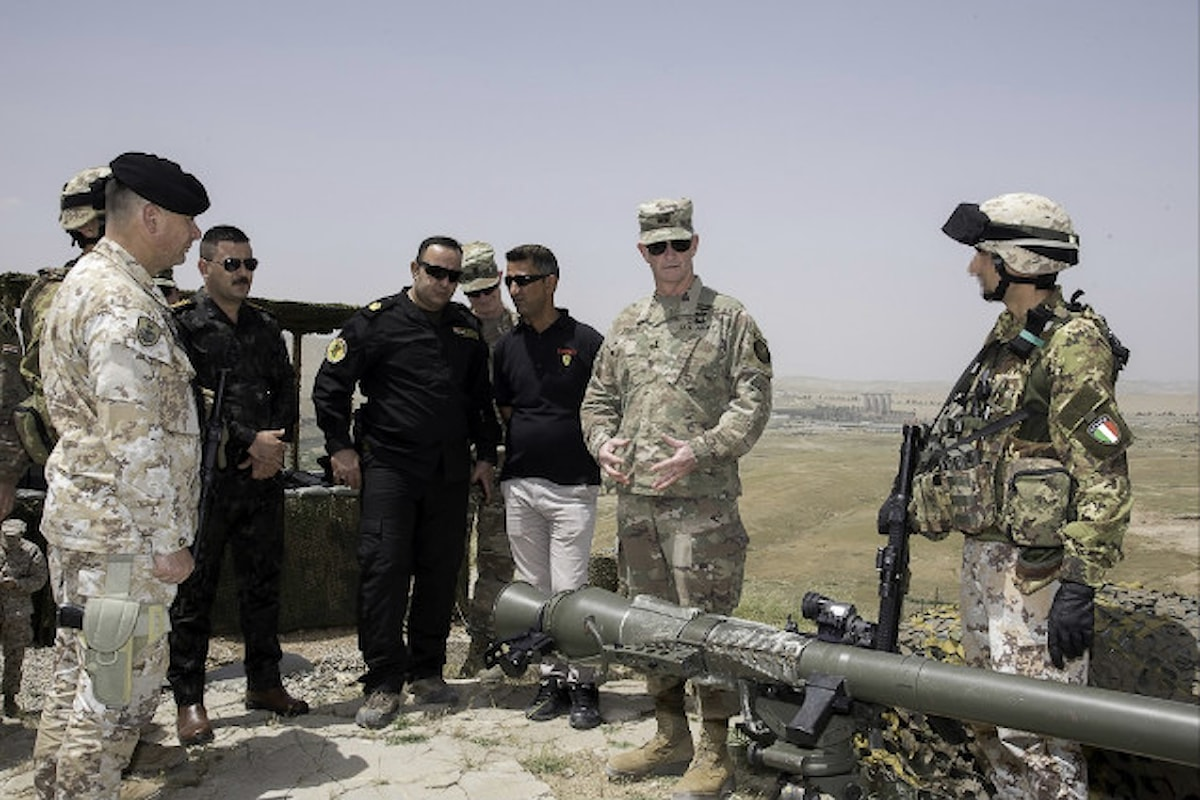 Iraq, Vice Comandante USA elogia professionalità militari Brigata Sassari