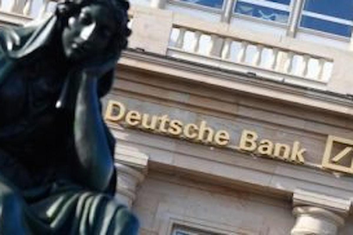 Bild: nessuno sconto per Deutsche Bank, dovrà dare 14 miliardi agli USA