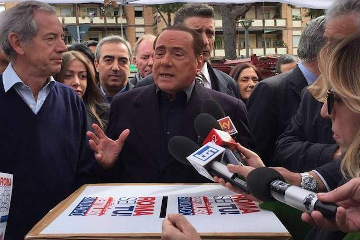 Bertolaso vince le gazebarie a Roma