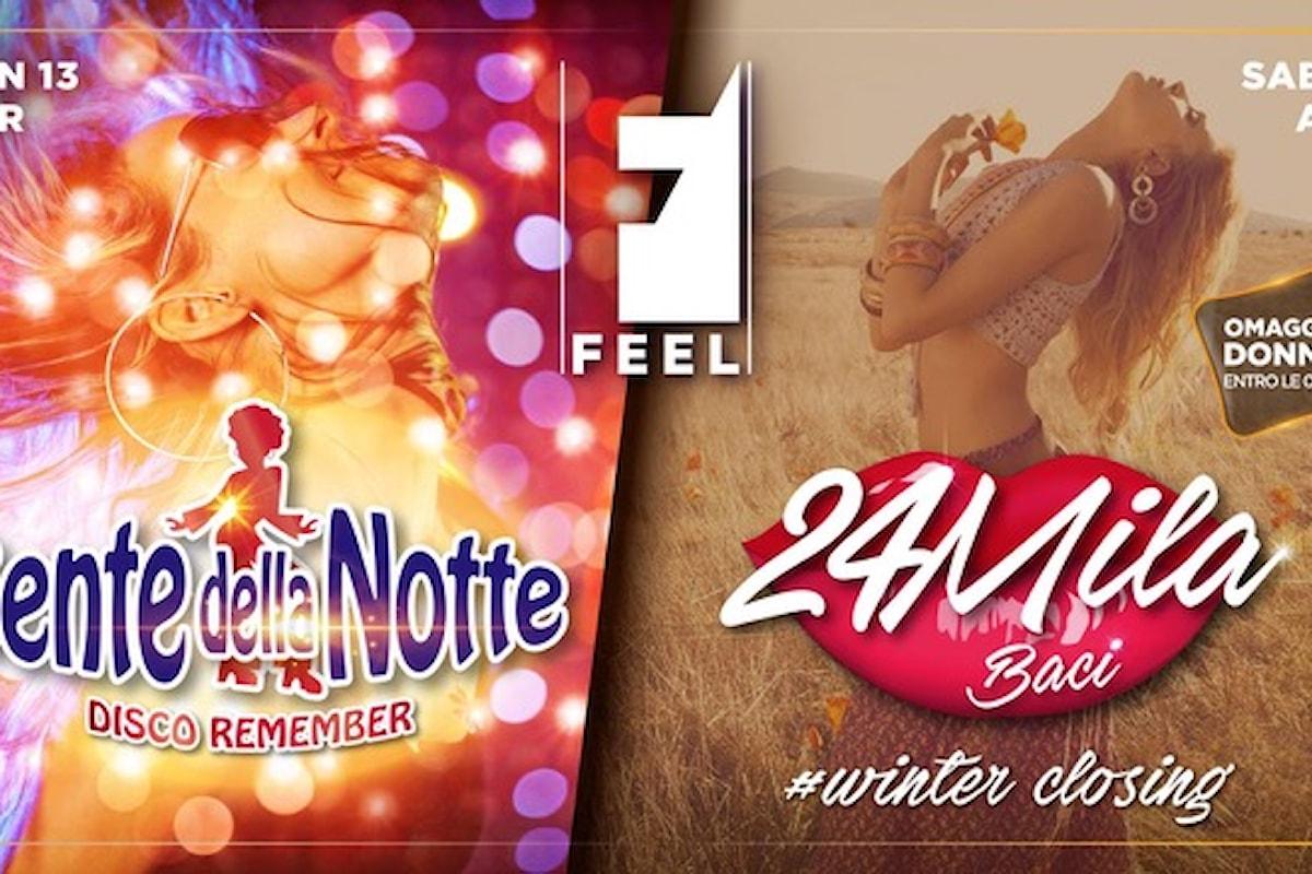Feel Club - Vicenza: 13/04 Gente della Notte - Disco Remember, 14/04 24MilaBaci #winterclosing, 20/04 Waves - your winter soundtrack, 21/04 Beat 90 #Edition | Closing Winter Season