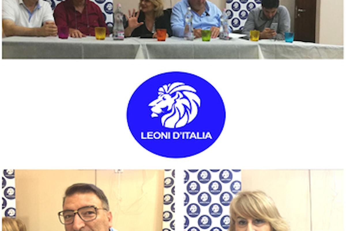 Venerdì 7 settembre il movimento politico LEONI D'ITALIA ha riunito i dirigenti della Campania