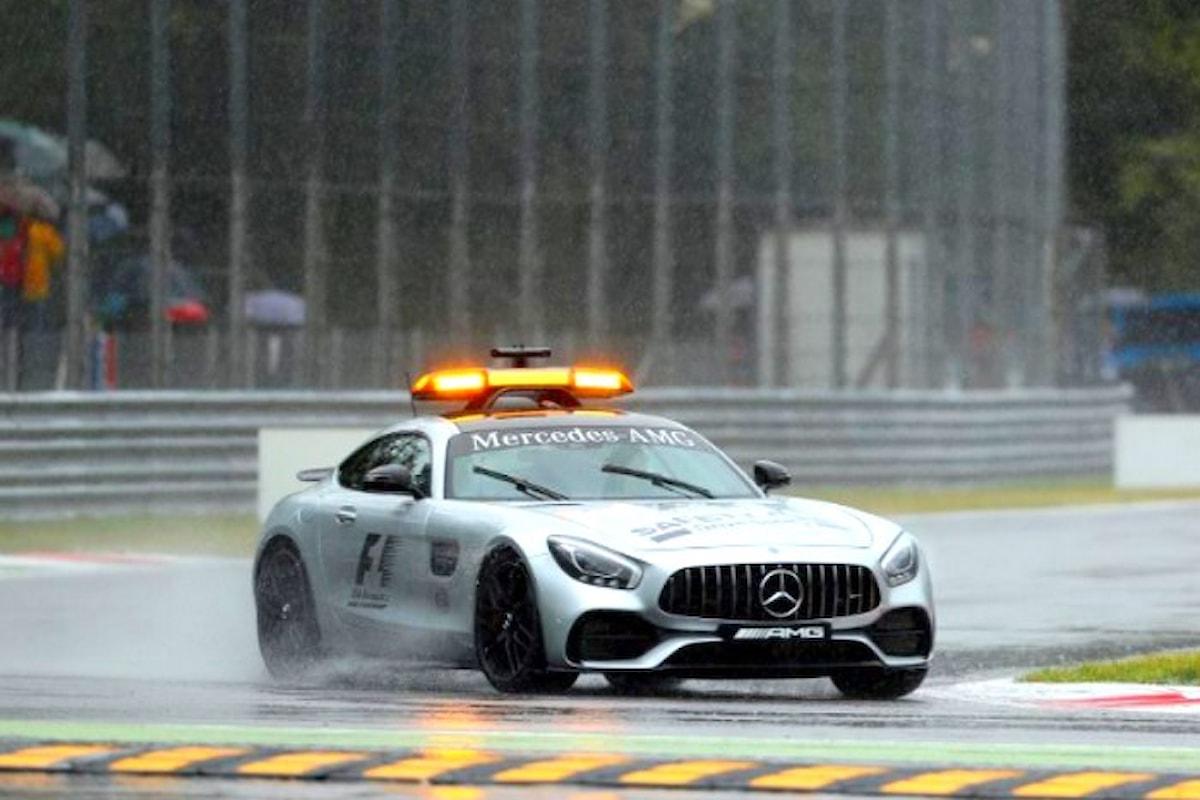 La pioggia ed Hamilton protagonisti delle qualifiche nel GP di Monza 2017
