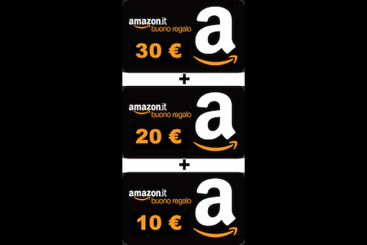 In Regalo 60 euro in Buoni Sconto da Amazon