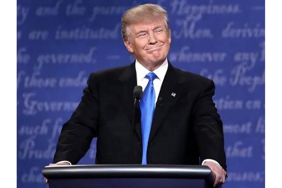 Trump non è un idiota, ma addirittura un genio. Lo ha detto lui