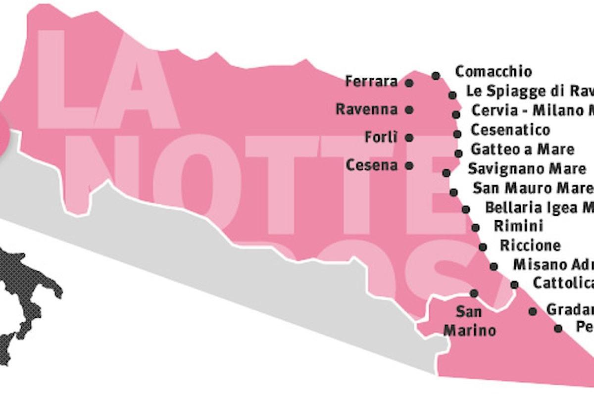 Il Festival più atteso sulla Riviera Romagnola: La Notte Rosa