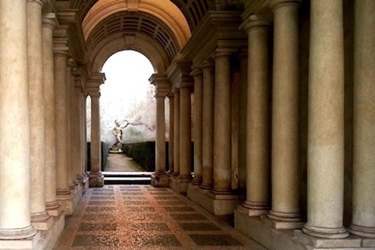 L'illusione ottica del Borromini a Roma