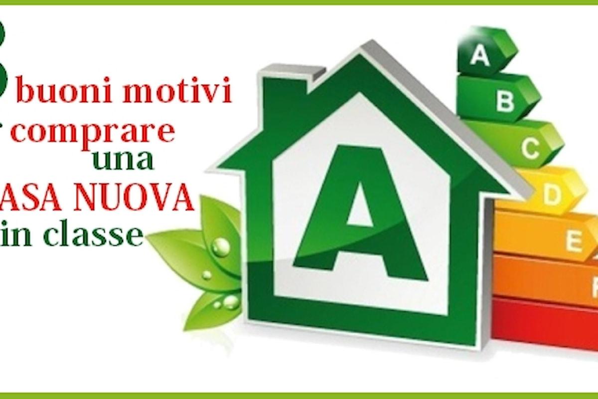 Comprare Casa: Tre Ottimi Motivi per sceglierla nuova e in classe A